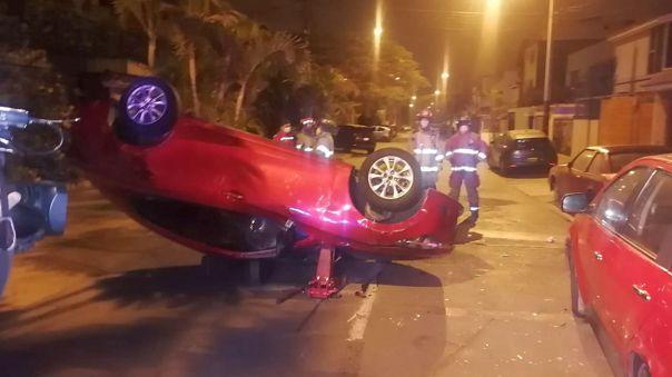 Accidente Surco