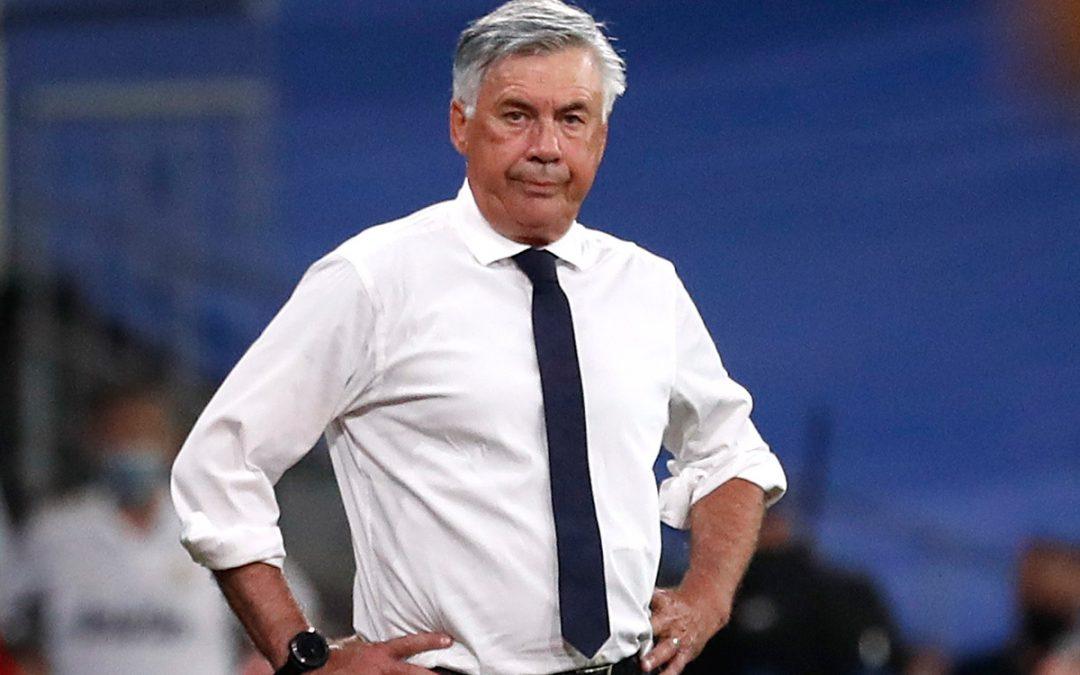 "Ancelotti: ""Vini es bastante frío frente a la portería"""