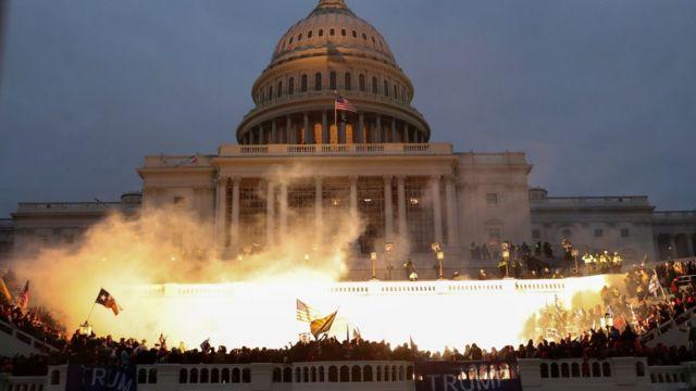 Estados Unidos: Capitolio se encuentra en alerta máxima