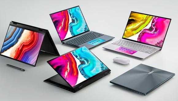 ASUS estrena nuevo portafolio de laptops con pantalla OLED