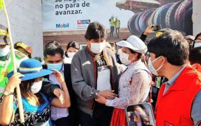 Peruanos repudian visita  de Evo Morales a Arequipa