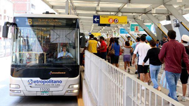 Habrá mayor seguridad en los buses y estaciones del Metropolitano