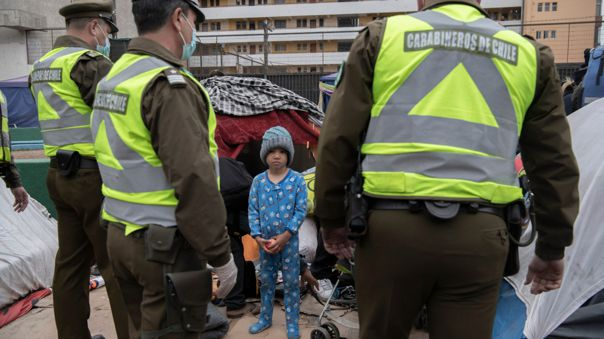 """Chile: Unicef """"preocupada"""" por la situación de los inmigrantes"""