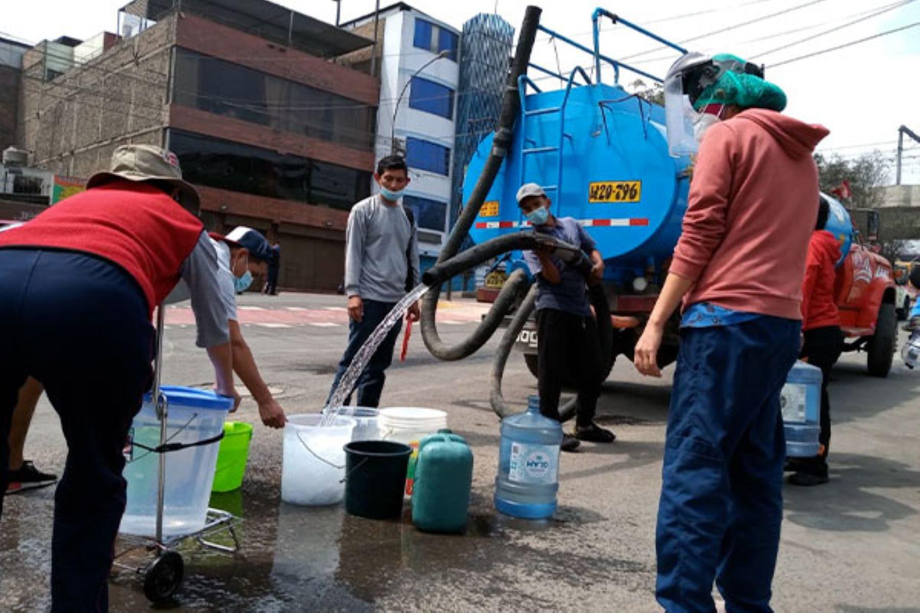 Sunass estará fiscalizando a Sedapal por desabastecimiento de agua