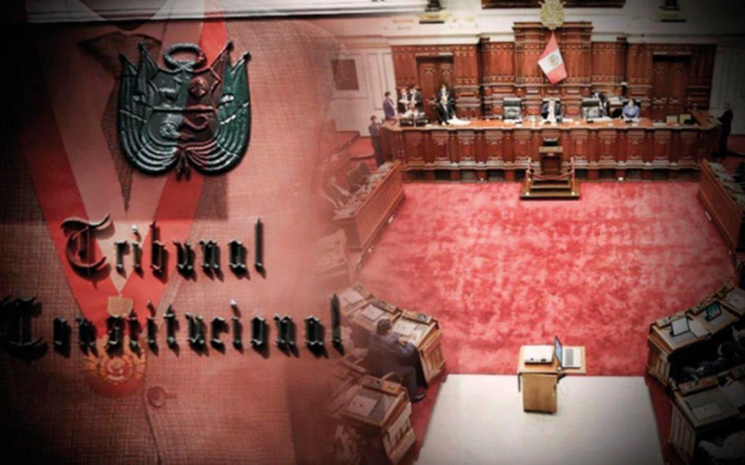 Congreso: Se instalará comisión sobre magistrados del TC