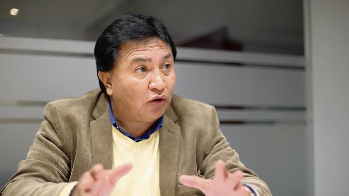 Secretario general del Sutep: Hay senderistas dentro del Gabinete
