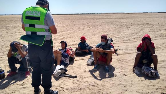 Cae banda criminal que cobraba US$200 a migrantes para entrar a Perú