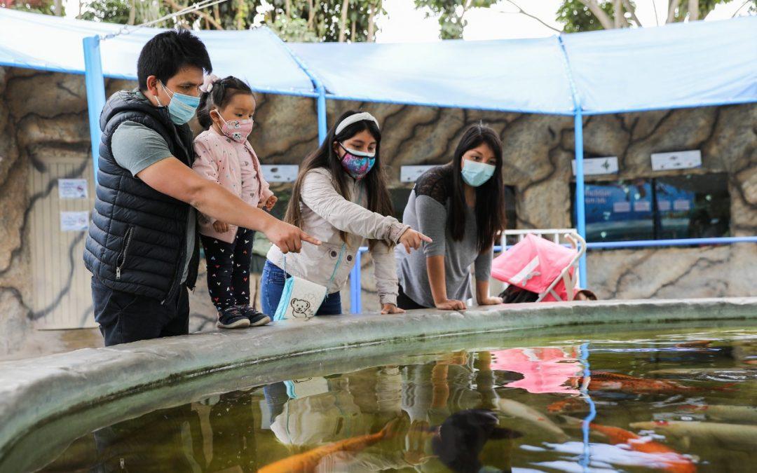 El Parque de las Leyendas celebró el Día de la Familia