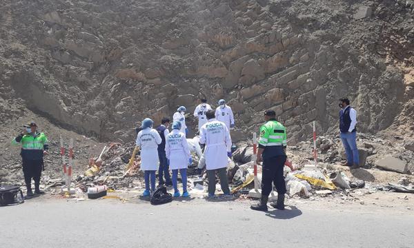 Matan y queman a joven en carretera a Huarochirí