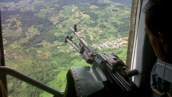 Fuerzas Armadas y Policía abatieron  a terrorista en el Vizcatán del Ene