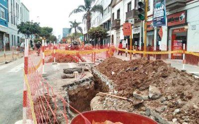 Barranco no avanza en ejecución de obras públicas