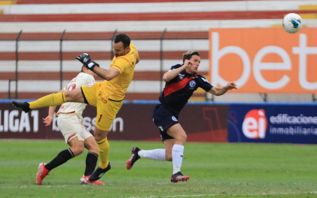 Universitario cayó 2–0 ante Municipal