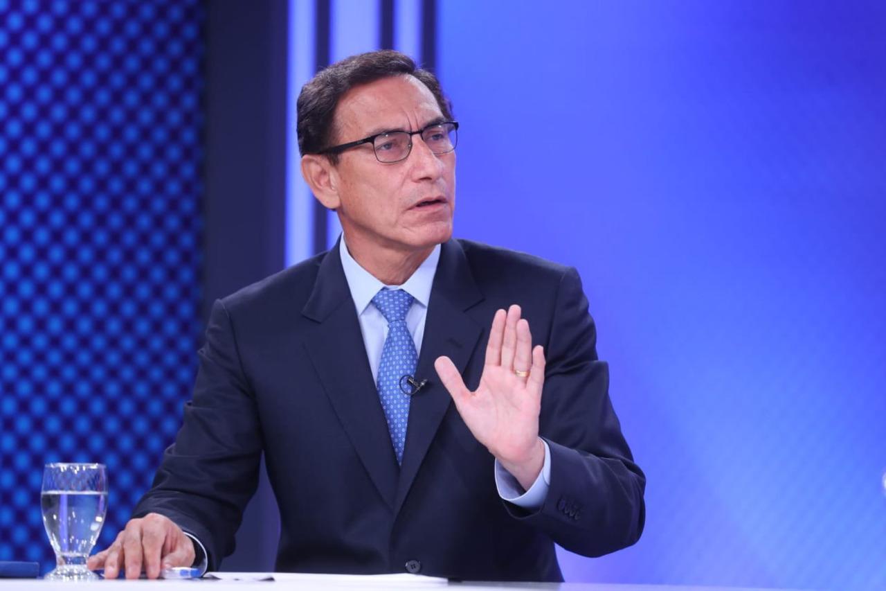 Vizcarra pedirá pensión vitalicia al Congreso