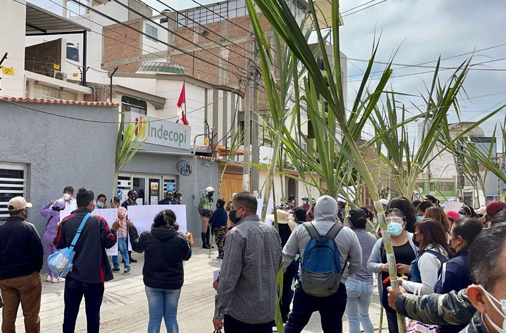 Trabajadores de Agropucalá en pie de lucha contra INDECOPI