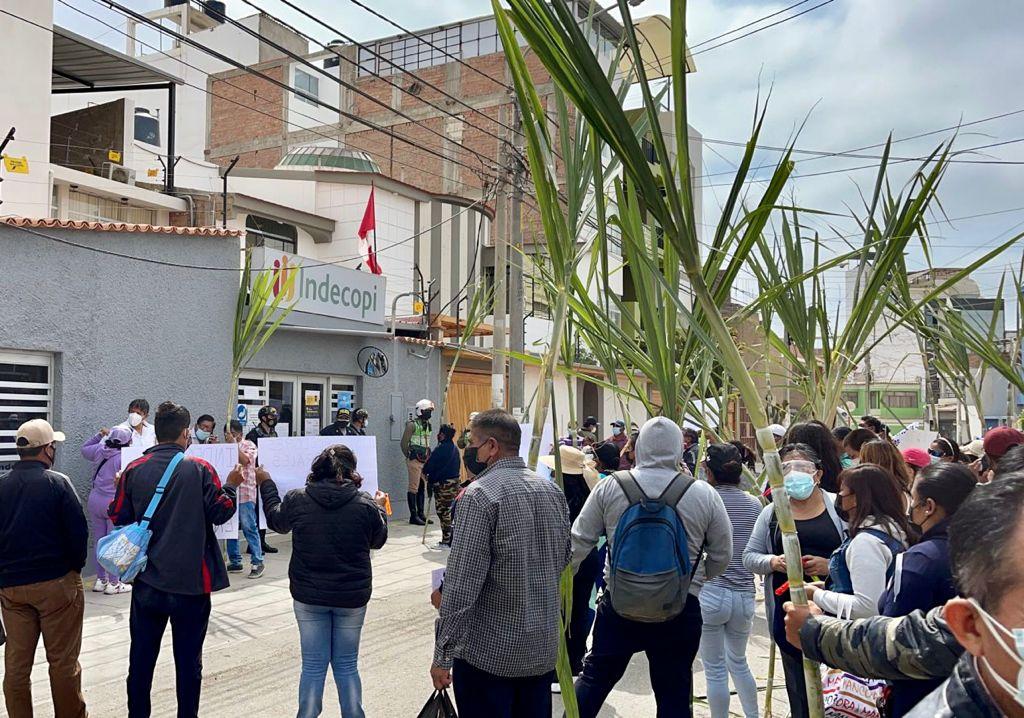 Trabajadores de Agropucala protestan contra INDECOPI por irregular Junta de Acreedores
