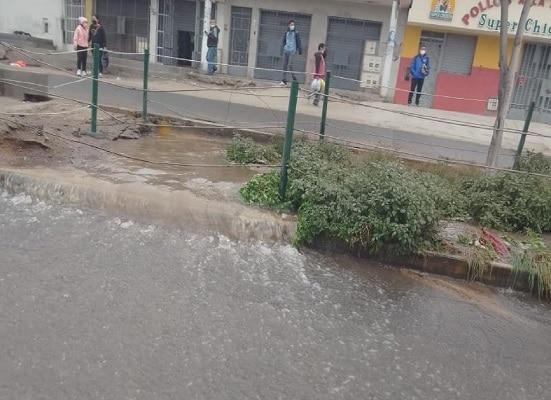 Nuevo aniego en San Juan de Lurigancho