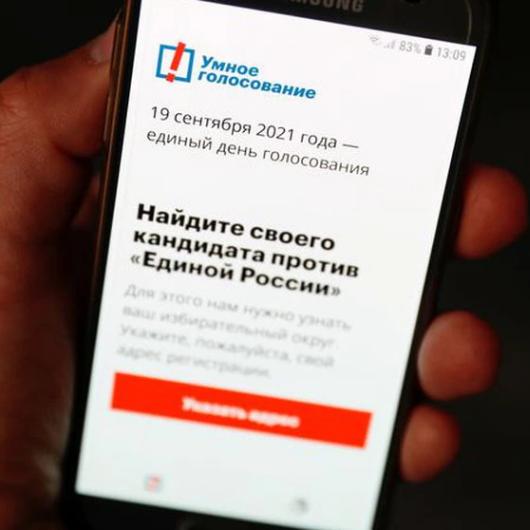 Navalny: Rusia presionó a Apple y Google eliminar aplicación