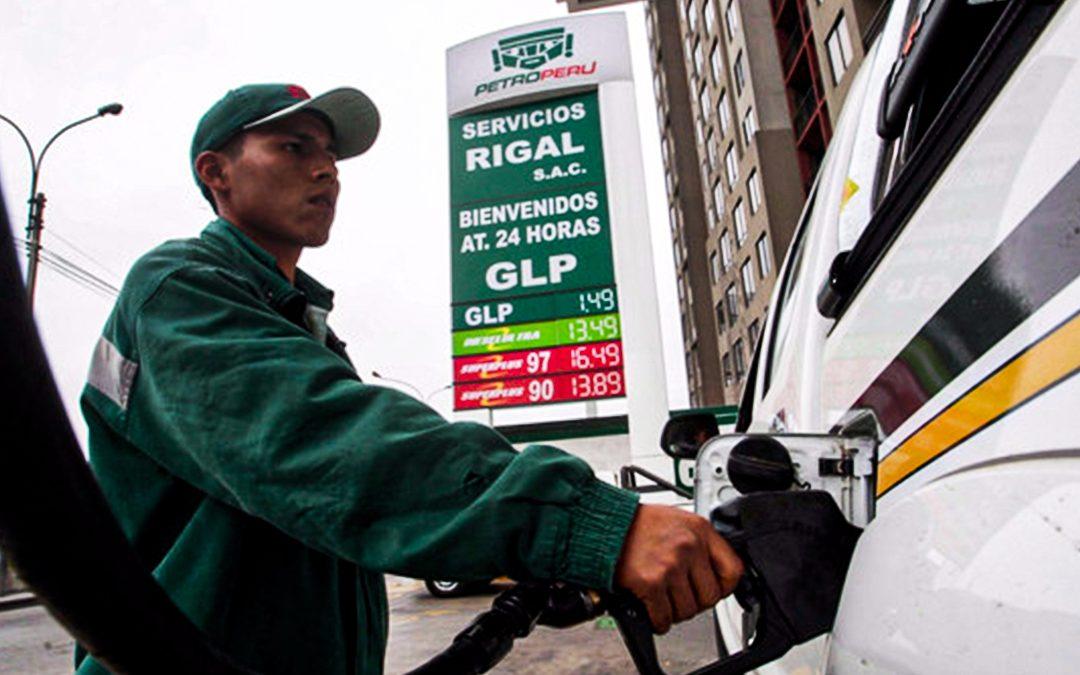 Este es el precio de los combustibles vehiculares en los grifos de Lima Metropolitana