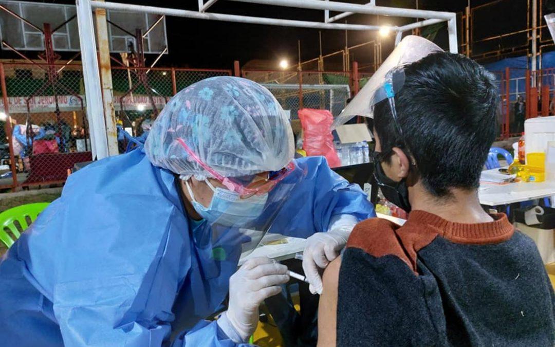 Cusco no va a parar vacunación a menores de 12 a 19 años