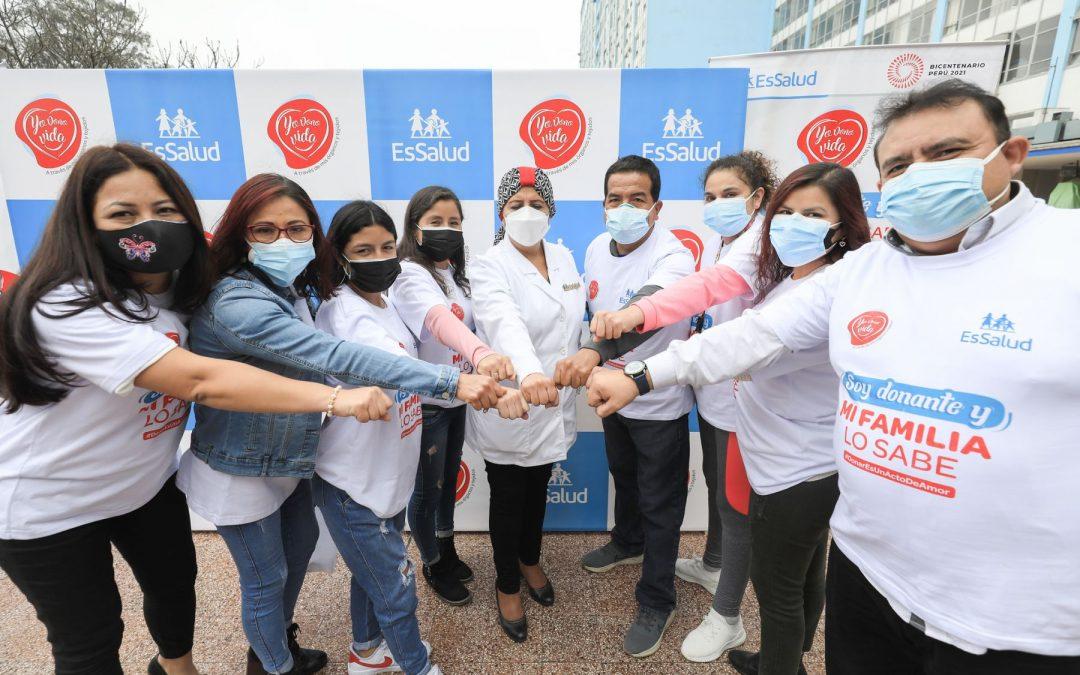 4.000 pacientes esperan un donante de órganos y tejidos
