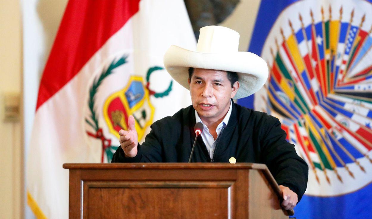 Pedro Castillo participará nuevamente en sesión de la OEA