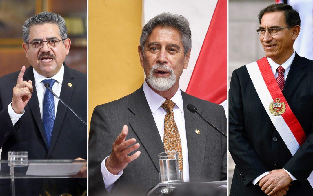 Tres últimos expresidentes piden pensión vitalicia