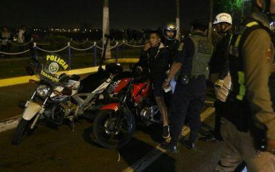 Costa Verde: Motociclistas realizaban 'piques' en San Miguel