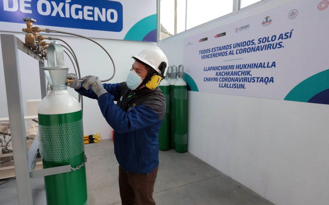 Se inaugura una nueva planta de oxígeno en Huancavelica