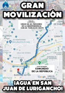 San Juan de Lurigancho: vecinos llegan al Congreso por falta de agua