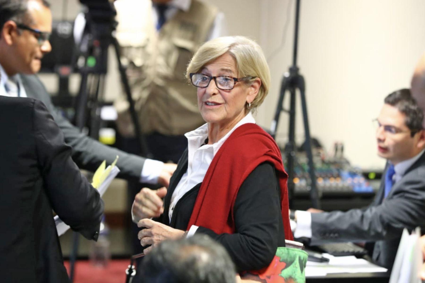 Allanan inmuebles de la ex alcaldesa de Lima Susana Villarán