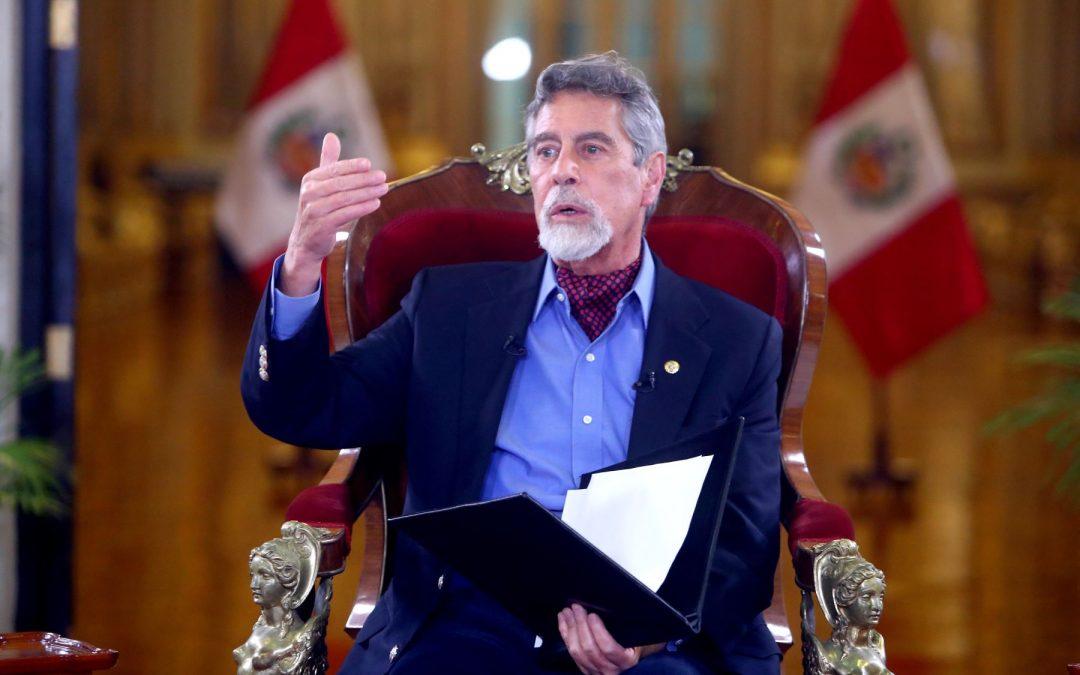 Francisco Sagasti: La ultraderecha esperaba que el gobierno de transición fracasara para entrar triunfante al Ejecutivo