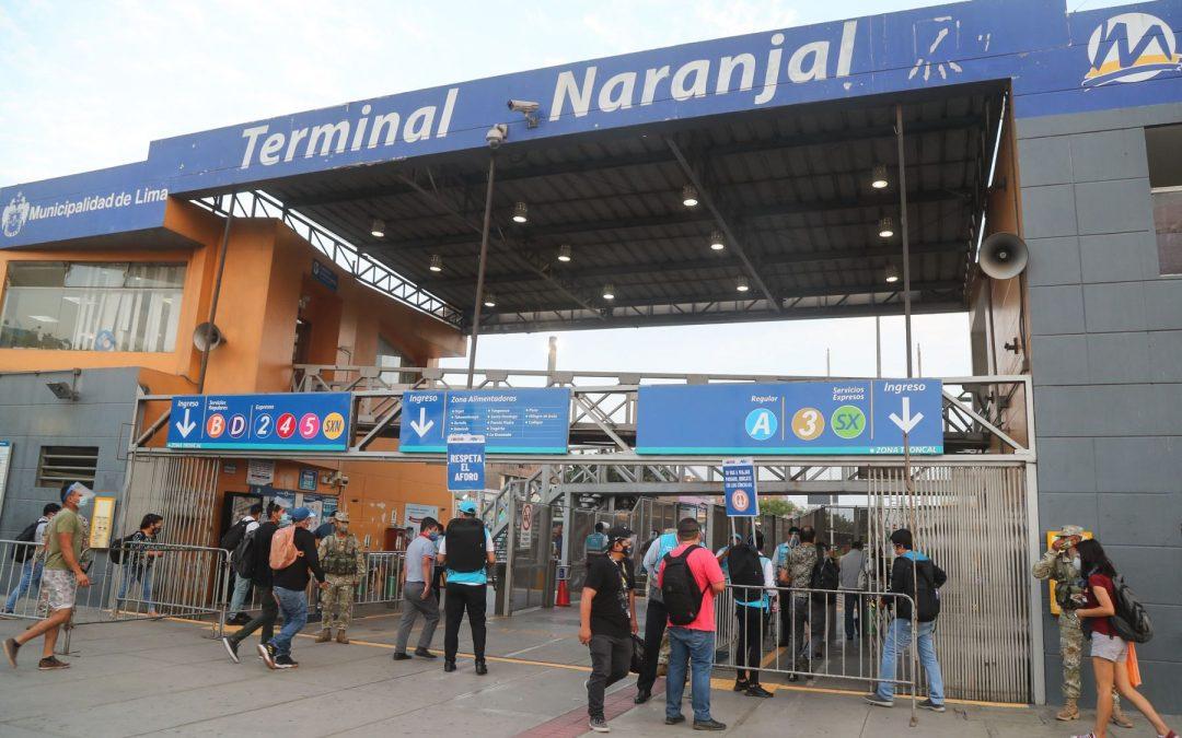 Realizan pruebas gratuitas de descarte de COVID-19 en terminal Naranjal
