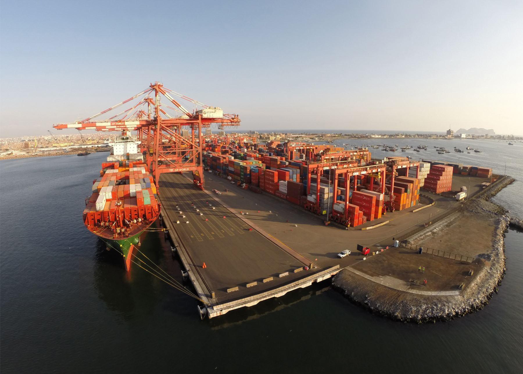 Importaciones peruanas crecieron 44.1% en el periodo enero-agosto 2021