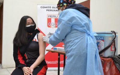 Vacunan a deportistas que participarán en los Panamericanos Junior 2021