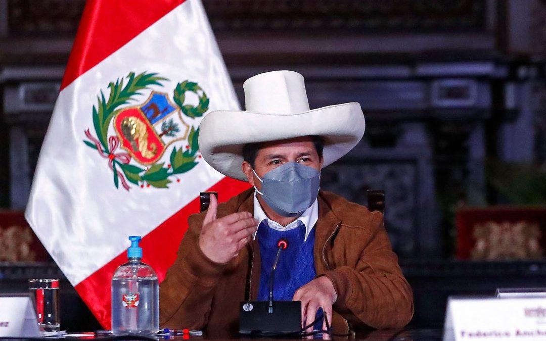 Pedro Castillo cumple agenda con autoridades del Vraem