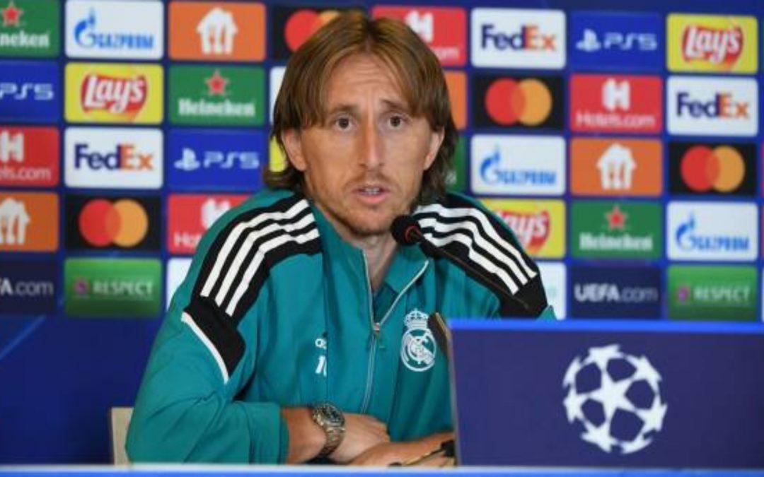 Modric: «No tiene sentido un Mundial cada dos años»