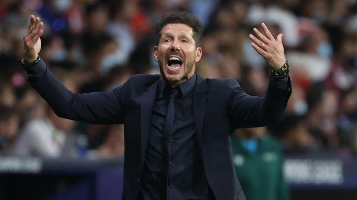 Simeone: «Yo nunca saludo después del partido, porque no me gusta»
