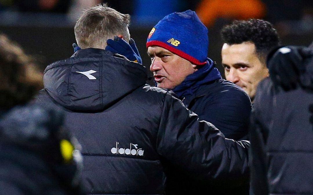 Mourinho culpa a los suplentes: «Los que han jugado hoy no tienen el nivel»
