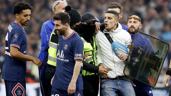 Messi, desaparecido en Marsella