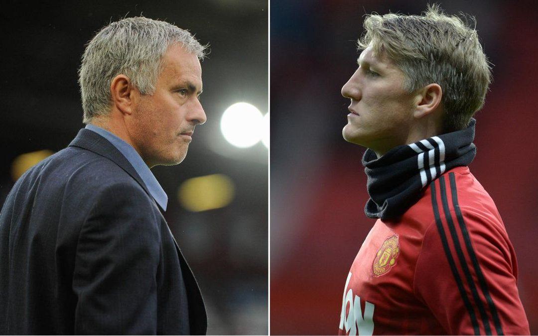 Schweinsteiger explicó lo que ocurrió con con José Mourinho