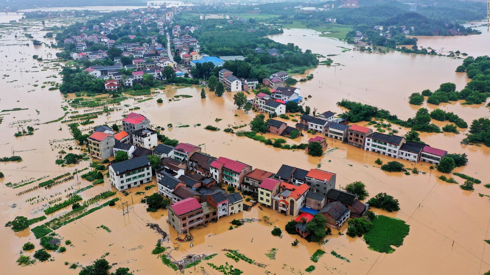 China: Inundaciones deja un millón de afectados y 15 muertos