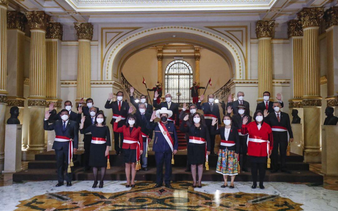 Perú Libre anuncia que no dará confianza  al gabinete y anuncia expulsiones