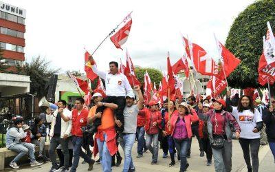 Rebelión en Perú Libre contra Pedro Castillo