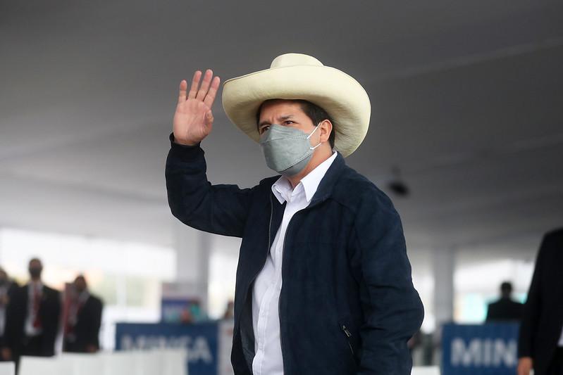 Pánico en el gobierno de Pedro Castillo