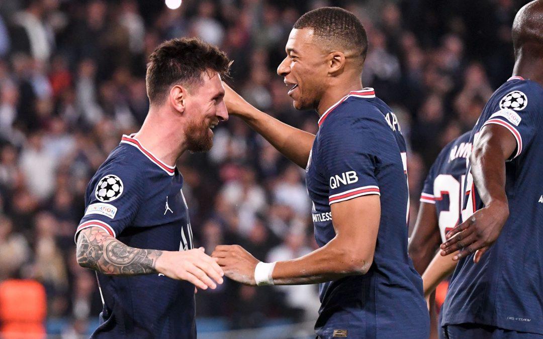 Mbappé, Messi y una noche feliz