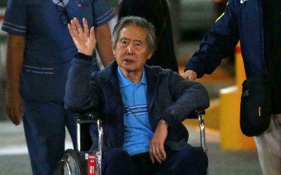 Alberto Fujimori fue internado de urgencia en clínica limeña