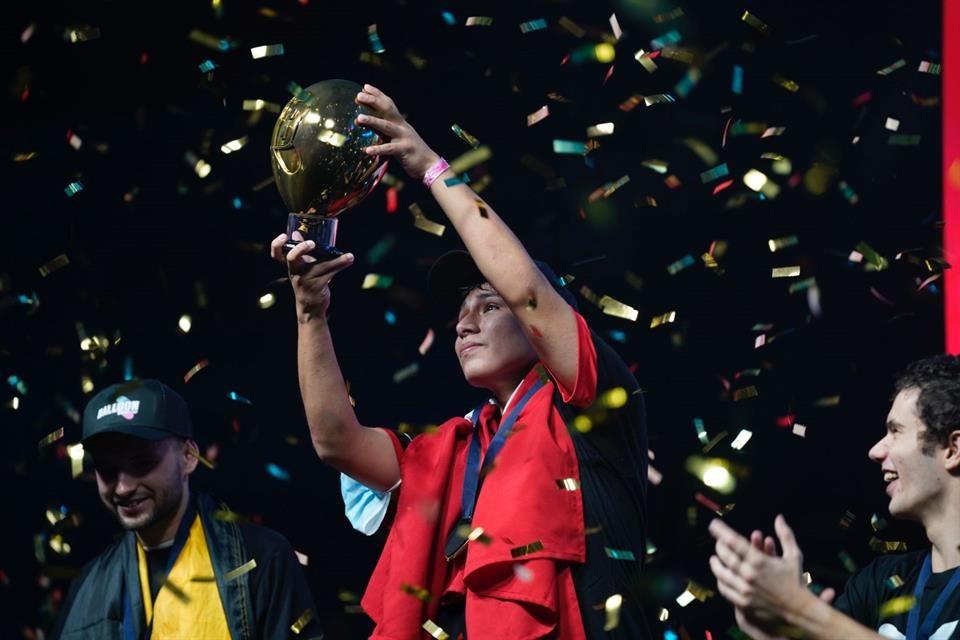 ¡Enhorabuena Francesco! Perú ganó el primer Mundial de Globos
