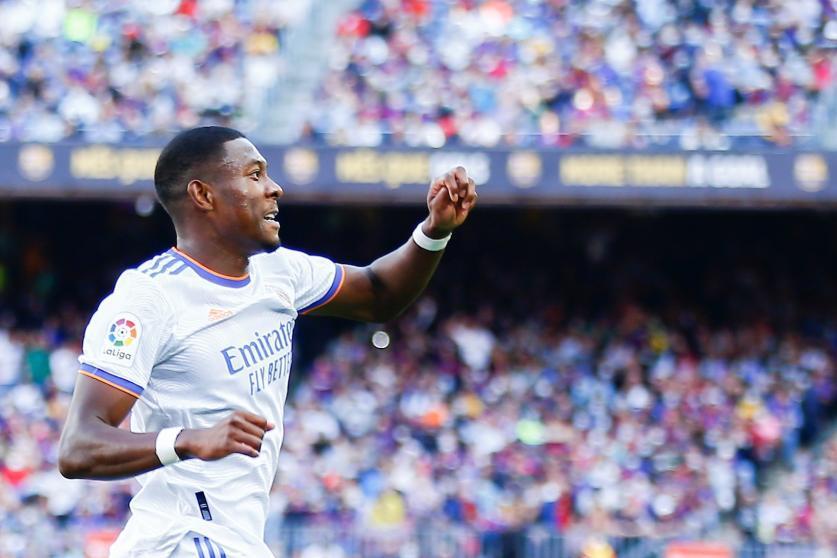 Alaba: «Mi primer Clásico y mi primer gol»