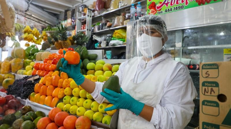 Lima Metropolitana: ligera alza de precios de alimentos y bebidas en setiembre
