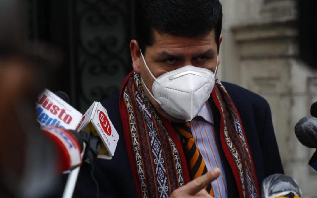 """Braulio Grajeda sobre investigación por lavado de activos: """"Todo está bancarizado"""""""